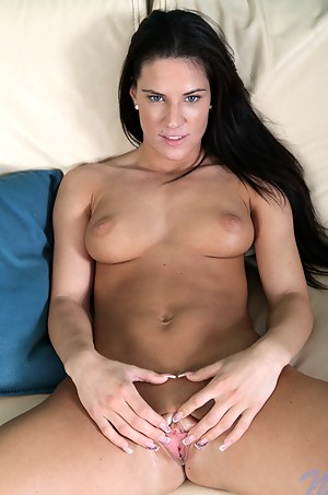 Watch Athina fuck her throbbing pussy with a dildo