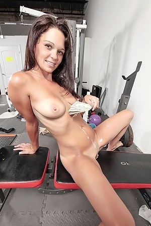 Lovely sluts are taking off their sport uniform and fucking with the instructor in the gym. They are extremely happy to get the payment for sex.