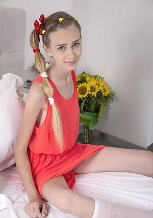 Fresh Teen Pigtails XXX Pictures