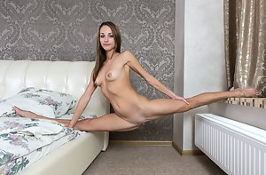 Horny girl next door will amaze you with her mouthwatering flexible body